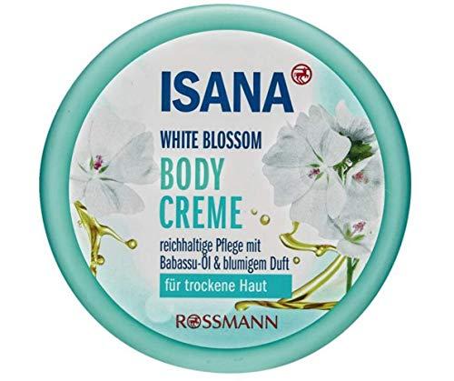 White Blossom Bodycreme, für trockene Haut, vegan