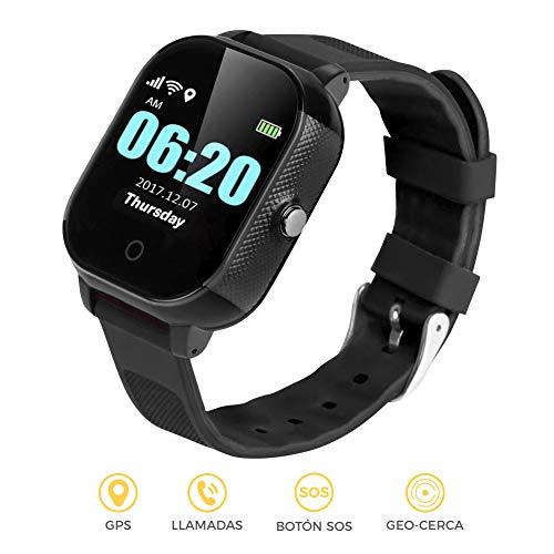 BINDEN Smartwatch Rastreador GPS FA23 Resistente el Agua IP67, Ideal para Niña o Niño, Seguimiento…