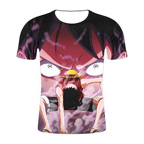 cyxb T-Shirts Regalos para Camiseta Padre e Hijo,Naruto Naruto Naruto Naruto Sasuke Anime Hierami One Piece Sleeve Short Manga 3DT-XT458_S