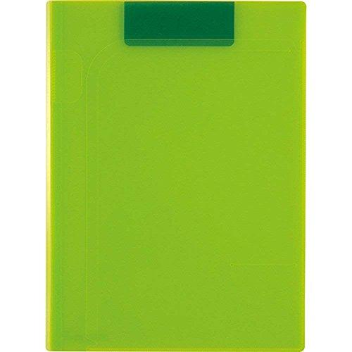 セキセイ マグネット式 クリップファイル マグネプラス A4 ライトグリーン ACT-5924-33 【まとめ買い3冊セット】