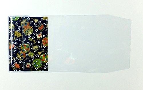 『御朱印帳カバー 高透明 厚手クリア 小(縦16㎝×幅11㎝用)1枚入』の3枚目の画像