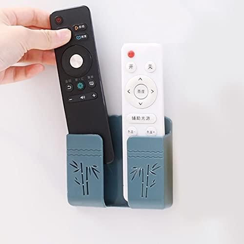 Liujuan - Supporto remoto per TV, senza punzone e montaggio a parete, per telefono e presa di ricarica, multi funzione organizer, supporto per camera e soggiorno