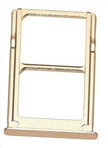 Desconocido Bandeja SIM para Xiaomi Mi 5 Mi5 Color Oro Dorado Soporte Adaptador Porta Tarjeta Nano Micro SD