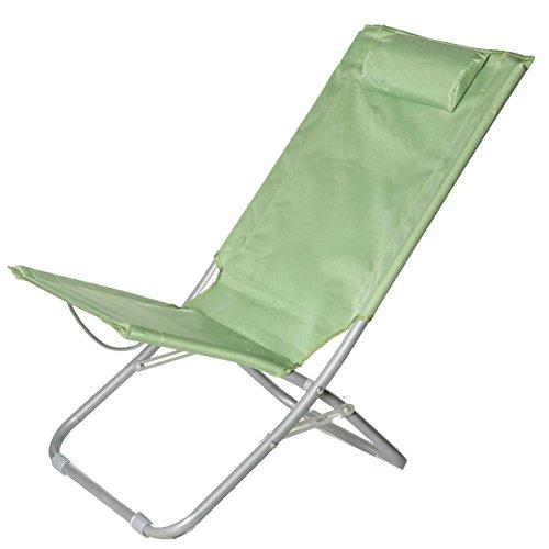 Be&xn Sillas de Camping plegables exteriores, Portátil Camping Barbecue Silla de Playa Silla de Pesca-A W50xH75cm(20x30inch)