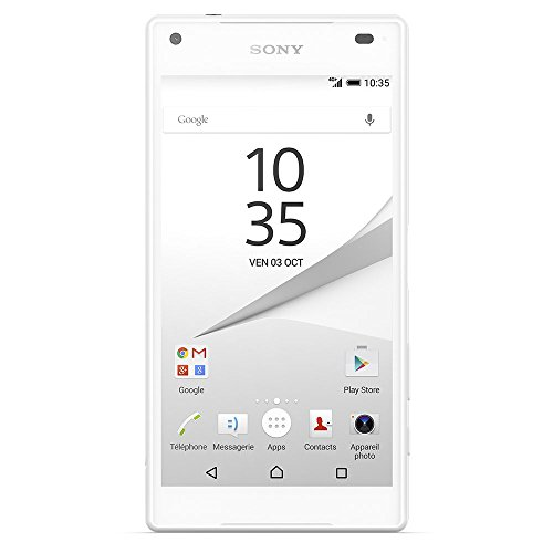Sony Xperia Z5 Compact Smartphone ( 11,7 cm (4,6 Zoll) Touch-Display, 32 GB interner Speicher, Android 5.1 (Lollipop)) weiß
