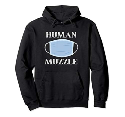 Masks Are Human Muzzles - Wear Your Masks Sheep Pullover Hoodie