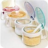Gewürzglas 4 Stück Glas Gewürzflasche Gewürzglas Küche Liefert Gewürzkasten