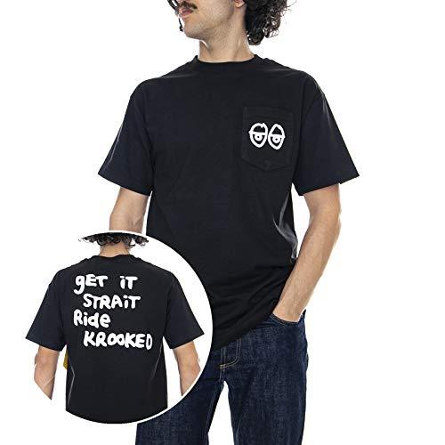 Krooked - T-Shirt - KR Eyes - Nero (L)