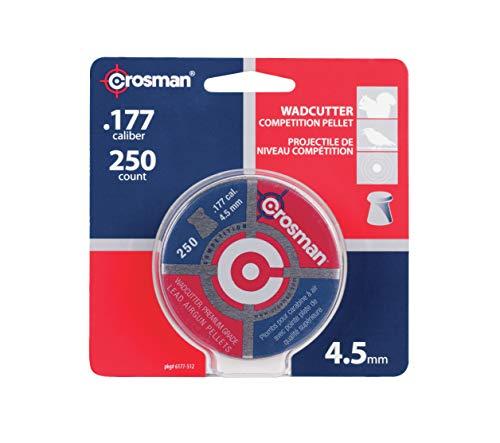 Crosman Competition .177 Cal, 7.4 Grains, Wadcutter, 250ct