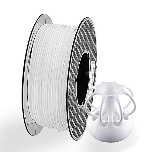 massager 3d printer filament PLA 3D printer filament 1.75mm, dimensional accuracy +/- 0.02mm 1kg (2.2 lb)/spool, white
