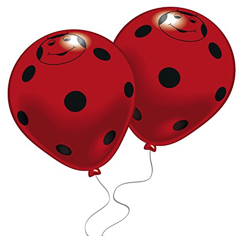 AMSCAN EUROPE Ballons 8 Stück Happy Beetles 4003359483599