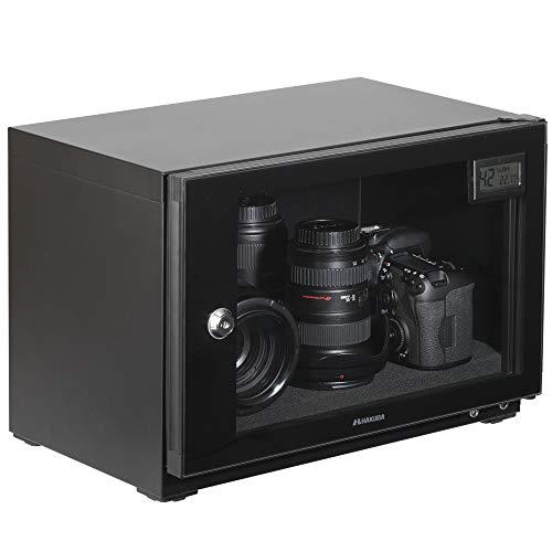 【Amazon.co.jp限定】 HAKUBA 防湿庫 E-ドライボックス コンパクトな 20L カビ対策 自動除湿 静音 高性能ペルチェ式防湿システム採用 メーカー5年保証 KED-P20
