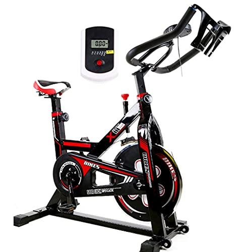 GAXQFEI Ejercicio Bicicleta Vertical Muda, Giratorio, Movimiento de Ejercicios Hogar, Bicicleta Interior, Equipo de Ejercicios, Bicicleta de Ejercicio Vertical con Lcd Súper Silencioso,a