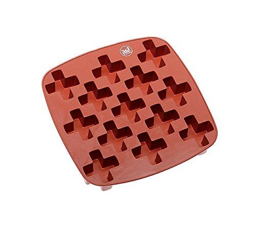 Sambonet Gadgets Moule à glaçons glaçons, Silicone, Rouge