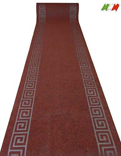 Casatessile Grek nca sobre 68 cm misurah Alfombra - Rosso