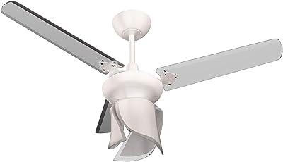Ventilador Lestia 127V 3P, Tron, Branco