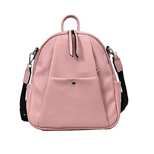 BAFEYU Women Backpack for Womens Cute Girls Teens PU Leather Small Rucksack Lightweight Travel Daypacks