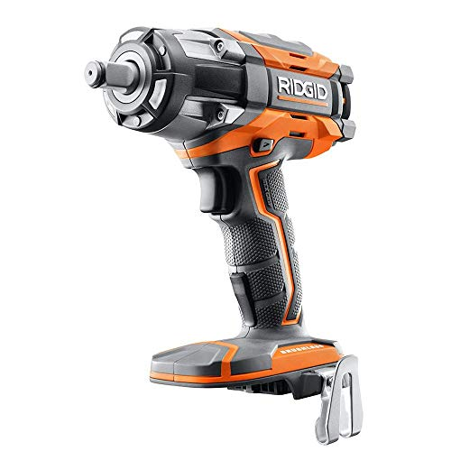 Ridgid R86011B 18V GEN5X Cordless Brushless 1/2in Impact Wrench Bare Tool (Renewed)
