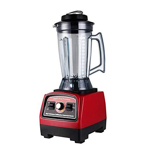 3.9L Standmixer Hochleistung ,Power Smoothie Blender,Edelstahl Standmixer Ice Crusher Blender Smoothie Maker Universal Mixer2800W