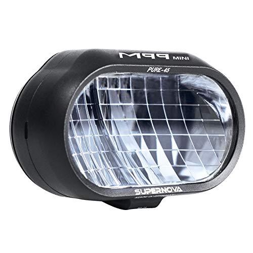 SUPER NOVA Supernova E-45 M99 Mini Pure Frontlicht schwarz 2020 Fahrradbeleuchtung