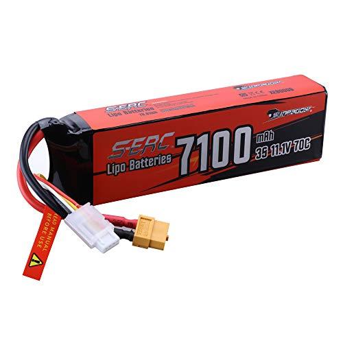 SUNPADOW 3S 11,1V Lipo batteria 70C 7.100mAh caso duro con XT60 per veicoli RC Buggy Auto Camion Serbatoio Barca Hobby da corsa