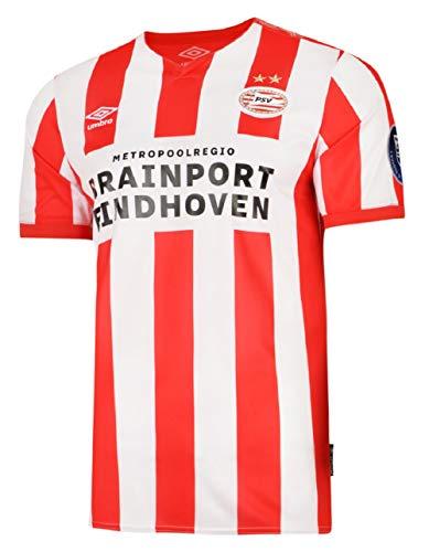 Umbro PSV Eindhoven Trikot Home 19/20 (M, red/White)