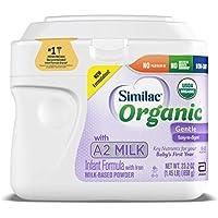 6-Count Similac Organic with A2 Milk Infant Formula 23.2-oz