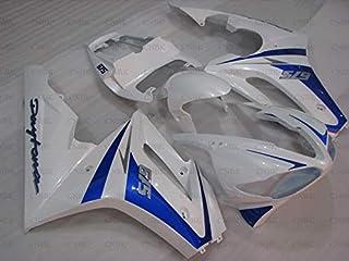 Fairing for Daytona 2009-2012 Motorcycle Fairing for 675 2011 Blue White Plastic Fairings for 675 2011