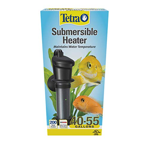 Tetra Submersible Heater With Electronic Thermostat, 200-Watt