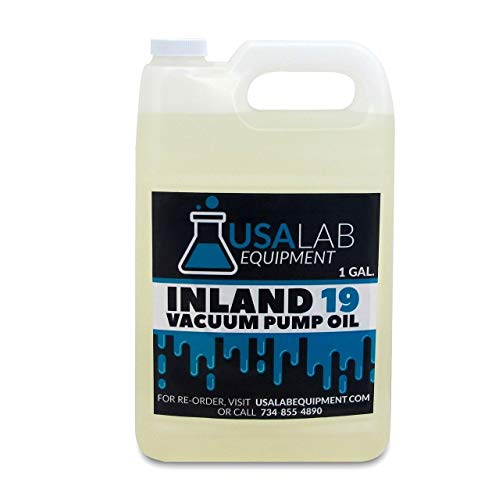 Inland 19 Vacuum Pump Oil 128oz / 1 Gallon for Edwards, Welch, Leybold, Agilent