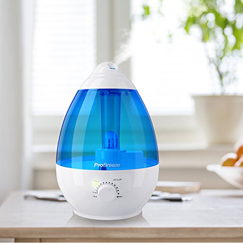 Pro Breeze Ultrasonic Cool Mist Humidifier