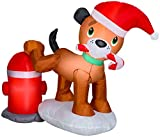 Gemmy 116509 Dog Scene Inflatable, Multi