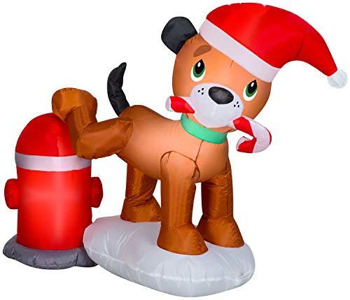 Gemmy 116509 Dog Scene Inflatable, Multi
