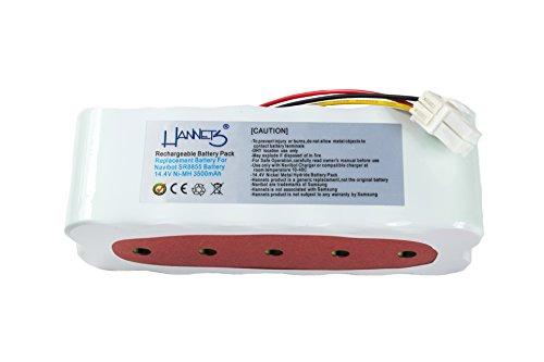 Hannets Batterie de haute qualité compatible avec Navibot SR8895 I Batterie compatible avec Robot Aspirateur Samsung Navibot I Accessoires Navibot SR8895 3500 mAh Batterie de rechange 14,4 V