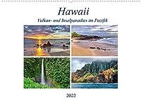 Hawaii - Vulkan- und Inselparadies im Pazifik (Wandkalender 2022 DIN A2 quer): Bilderreise ueber die Hawaii Inseln Kauai, Maui, Oahu und Big Island (Monatskalender, 14 Seiten )