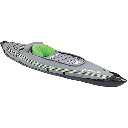 Sevylor Quikpak K1 1-Person Kayak Blue