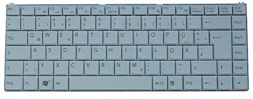 NExpert deutsche QWERTZ Tastatur für Sony Vaio VGN-N31L VGN-N31M VGN-N31S VGN-N31Z Neu Weiss