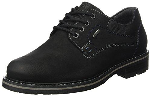 FRETZ men Scooter, Zapatos Derby Hombre, Negro (Noir), 40 EU