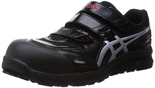 [アシックス] 安全靴 作業靴 ウィンジョブ 樹脂製先芯 FCP102 ブラック/シルバー 26.5 cm 3E