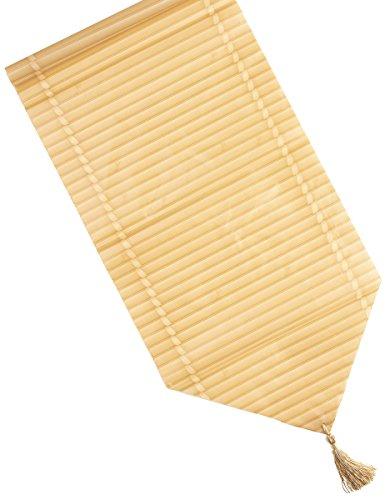 Generique - Bambus-Tischläufer Hawaii-Deko 28 x 150 cm
