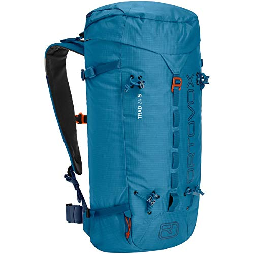 ORTOVOX Womens Trad 24 S Backpack, Blue Sea, 24 Litros