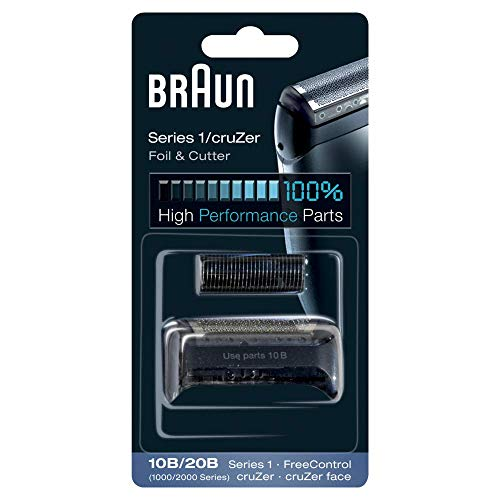 Braun Series 1 10B Elektrischer Rasierer Scherkopfkassette – schwarz