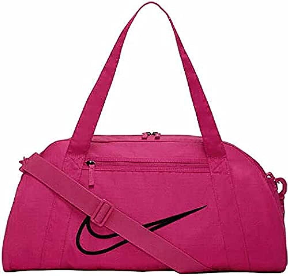 Nike w nk gym club - 2.0 borsa sportiva per donna in nylon fireberry
