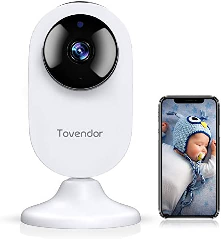 Tovendor Mini Smart Home Camera 1080P 2 4G WiFi Security Camera Wide Angle Nanny Baby Pet Monitor product image