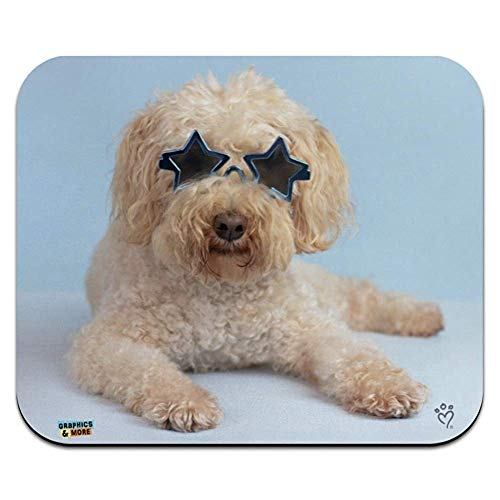 Weichbeschichtete wheaten terrier starry eyed sonnenbrille low profile thin mouse pad mousepad