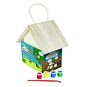 Gardman Kids Paint Your Own Wild Bird Feeder - Natural