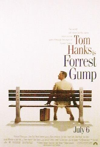Close Up Póster de la película Forrest Gump (66cm x 96cm) + 1 póster Sorpresa de Regalo