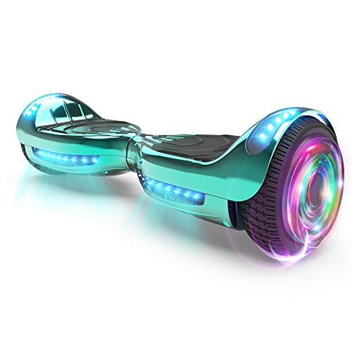 HOVERSTAR Hoverboard (Chrome Turquoise)