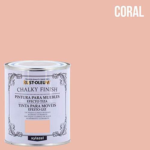 Pintura efecto tiza Chalk Paint Rust-Oleum Xylazel - 750 mL, Coral