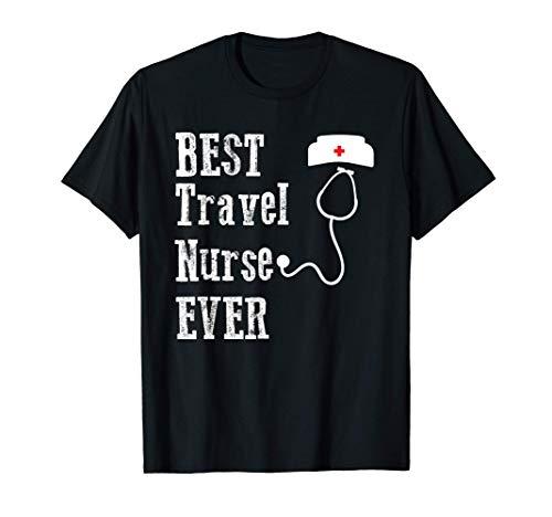 Mejor regalo de enfermera de viaje Camiseta